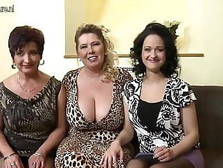 Mom und moms Friends anal blowjob mature