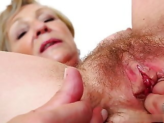 Juicy and sweet pussy of Antonia's mommy needs a big dick mature top rated creampie