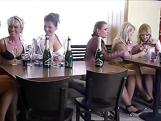 Janet Darling - heat bachelorette party of lonely mommies blowjob hardcore mature
