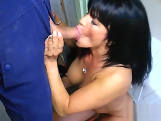 Horny german milf fuck a hard cock blowjob german hardcore