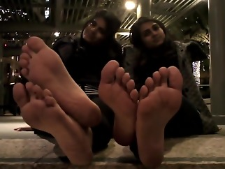 Two Indian Ladys Discuss Stinky Feet two indian ladys discuss stinky feet
