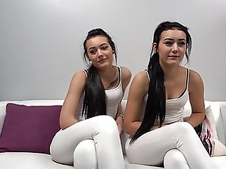 Amateur casting twins blowjob cumshot hd videos