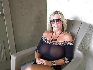 WW - Lady in black blonde hardcore milf