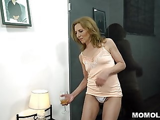 Unshaved Mature Pussy Filled With Big Dick hairy mature milf