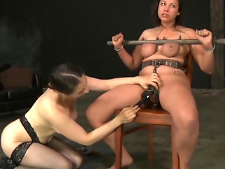 big tits fixed hardcore slave bdsm