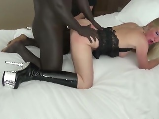 2 Black Dicks Fuck his German Wife and Cuckold Husband Watch 2 black dicks fuck his german wife and cuckold husband watch