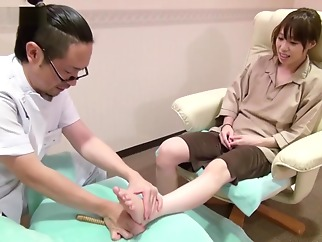 Japanese Foot Torture With Wooden Stick Instructional Video hd asian japanese