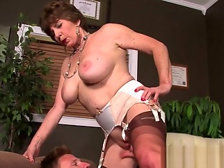 Lusty Grandma Fucked In The Asshole hd hardcore granny